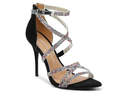 Jessica Simpson Heeled Open Toe Round Toe Casual Style Plain Pin Heels Party Style 2