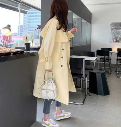 Formal Style  Bridal Stand Collar Coats Casual Style Plain