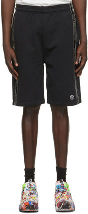 VETEMENTS Street Style Plain Cotton Logo Shorts