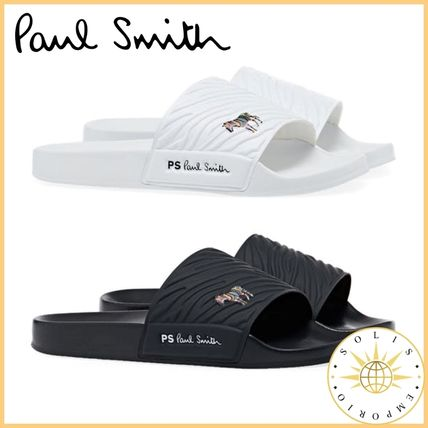 Paul Smith Flipflop Logo Unisex Street Style Shower Shoes