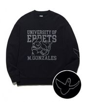 Mark Gonzales Street Style Collaboration Long Sleeves Cotton Logo