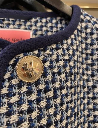 kate spade new york Other Plaid Patterns Tweed Jackets
