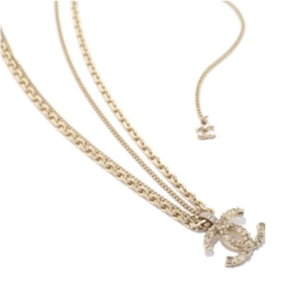 CHANEL Costume Jewelry Casual Style Unisex Party Style