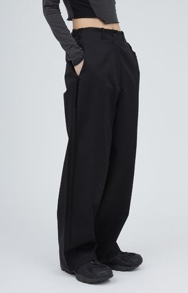 Casual Style Street Style Collaboration Plain Long