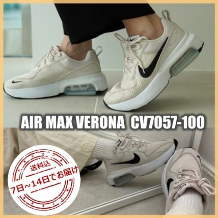 Nike AIR MAX Logo Street Style Low-Top Sneakers