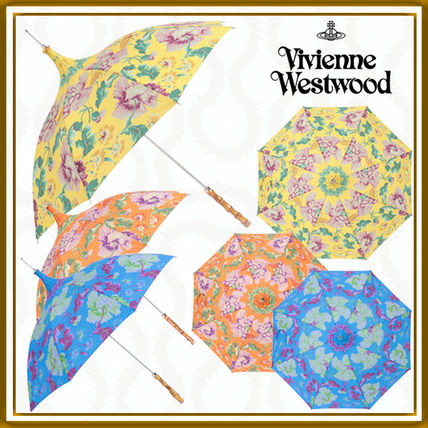 Vivienne Westwood Flower Patterns Logo Umbrellas & Rain Goods