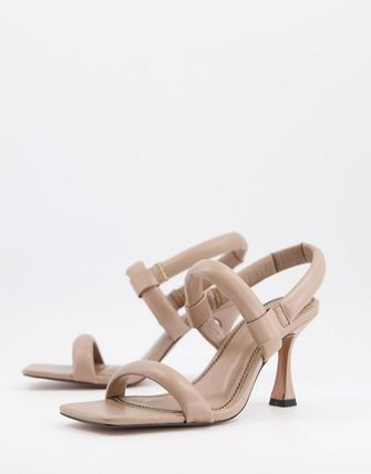 ASOS Mules Open Toe Casual Style Elegant Style Heeled Sandals