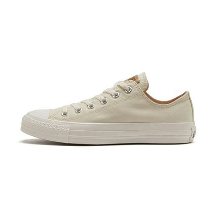 CONVERSE ALL STAR Star Rubber Sole Casual Style Unisex Suede Blended Fabrics