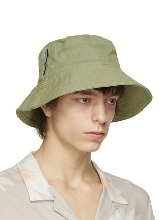Unisex Blended Fabrics Street Style Wide-brimmed Hats