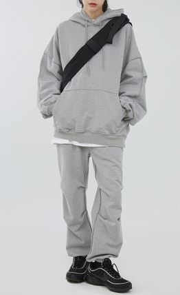 Raucohouse Co-ord Unisex Collaboration Street Style Oversized