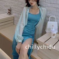 Long Sleeves Party Style Elegant Style Co-ord Shawls