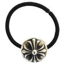 CHROME HEARTS Unisex Cross Silver Hair Accessories