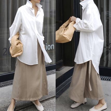 Formal Style  Bridal Slit Pants Military Icy Color