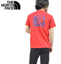 THE NORTH FACE Crew Neck Men'S Short Sleeve Red Box Tee 5