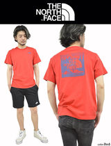 THE NORTH FACE Crew Neck Men'S Short Sleeve Red Box Tee 6
