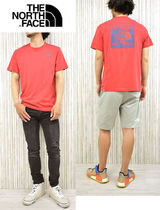 THE NORTH FACE Crew Neck Men'S Short Sleeve Red Box Tee 9