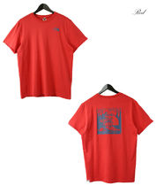 THE NORTH FACE Crew Neck Men'S Short Sleeve Red Box Tee 12