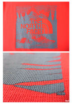 THE NORTH FACE Crew Neck Men'S Short Sleeve Red Box Tee 20
