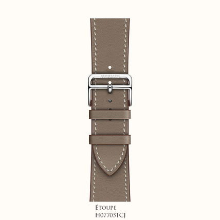 HERMES Formal Style  Leather Elegant Style Watches