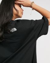 THE NORTH FACE Dresses Crew Neck Casual Style Flared Street Style Plain Cotton Long 4