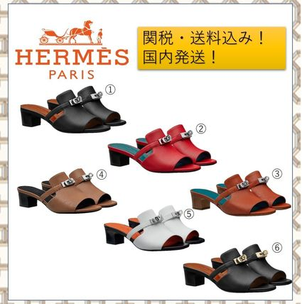 HERMES Kelly Sandals