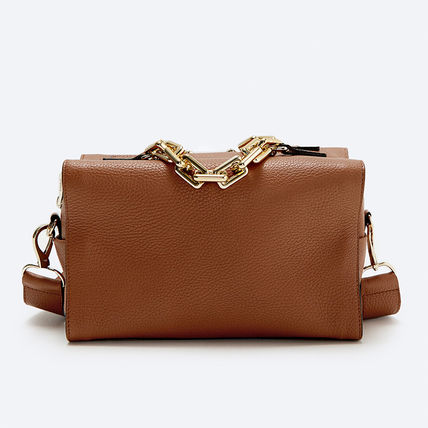 Casual Style Leather Party Style Elegant Style Shoulder Bags