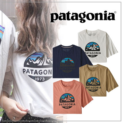 Plain Short Sleeves Logo Outdoor T-Shirts