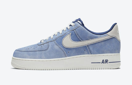 Nike AIR FORCE 1 Unisex Street Style Plain Logo Sneakers