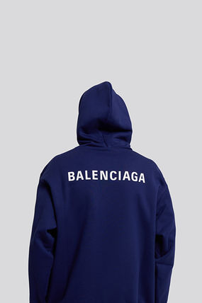 BALENCIAGA Pullovers Sweat Long Sleeves Logo Luxury Hoodies