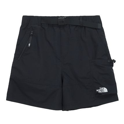THE NORTH FACE WHITE LABEL Unisex Street Style Plain Logo Shorts