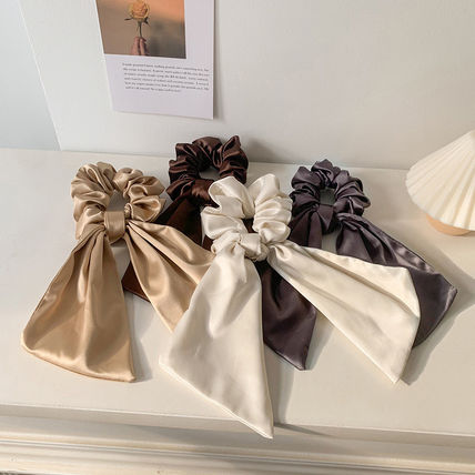 Scrunchy Casual Style Party Style Office Style Elegant Style
