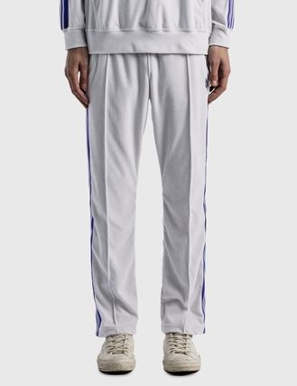 Needles Tapered Pants Stripes Street Style Plain Logo Tapered Pants