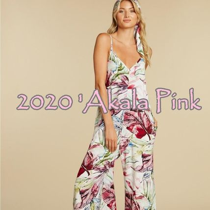 Flower Patterns Tropical Patterns Casual Style Sleeveless