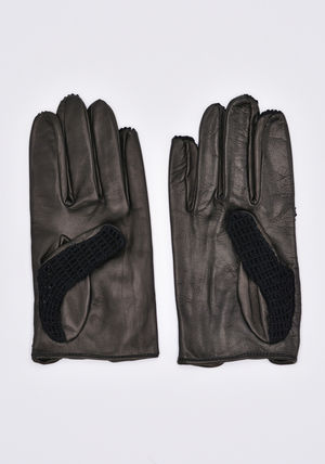 ERNEST W.BAKER Leather Leather & Faux Leather Gloves