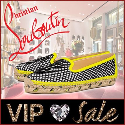 Christian Louboutin Platform Plain Toe Casual Style Street Style Party Style