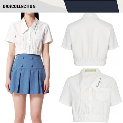 Casual Style Street Style Short Sleeves Office Style