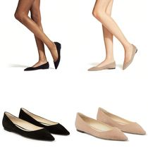 Jimmy Choo Casual Style Suede Plain Leather Handmade Party Style