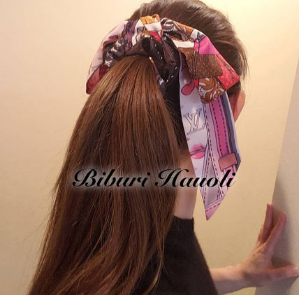 Louis Vuitton Scrunchy Casual Style Street Style Party Style Office Style