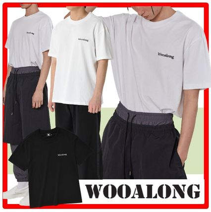 WOOALONG More T-Shirts Unisex Street Style Cotton Short Sleeves T-Shirts
