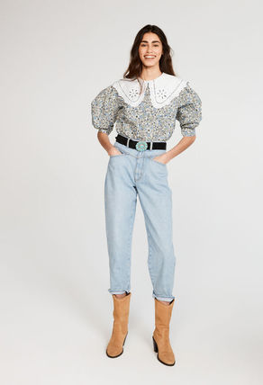 Casual Style Cotton Party Style Office Style Elegant Style