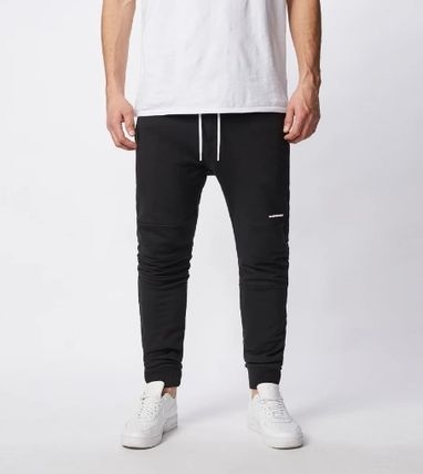 Ron Herman Street Style Plain Cotton Logo Joggers & Sweatpants