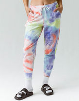 Nike Printed Pants Stripes Other Plaid Patterns Casual Style
