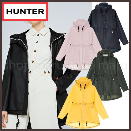 HUNTER Casual Style Unisex Plain Outerwear
