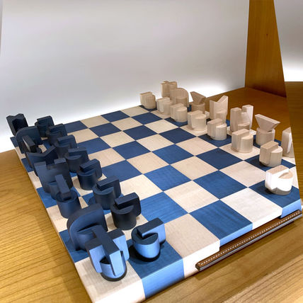 HERMES Horsecut Chess Game, Small Model