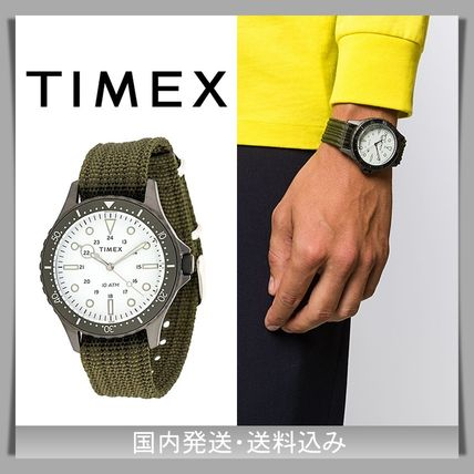 TIMEX Analog Street Style Quartz Watches Divers Watches Analog Watches