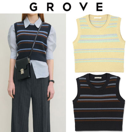 GROVE Casual Style Street Style Office Style Elegant Style