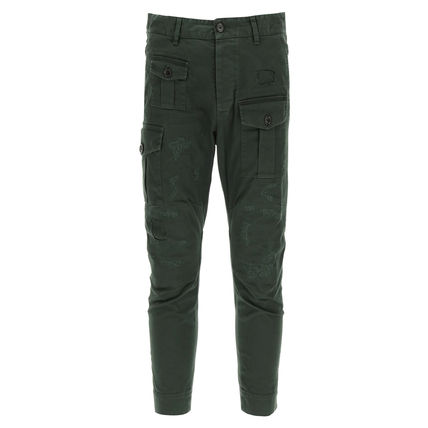 D SQUARED2 Cotton Cropped Pants