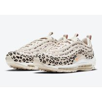 Nike AIR MAX 97 Rubber Sole Casual Style Logo Low-Top Sneakers