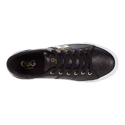 G BY GUESS Square Toe Casual Style Pin Heels Low-Top Sneakers