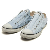 CONVERSE ALL STAR Unisex Street Style Plain Logo Loafers & Slip-ons